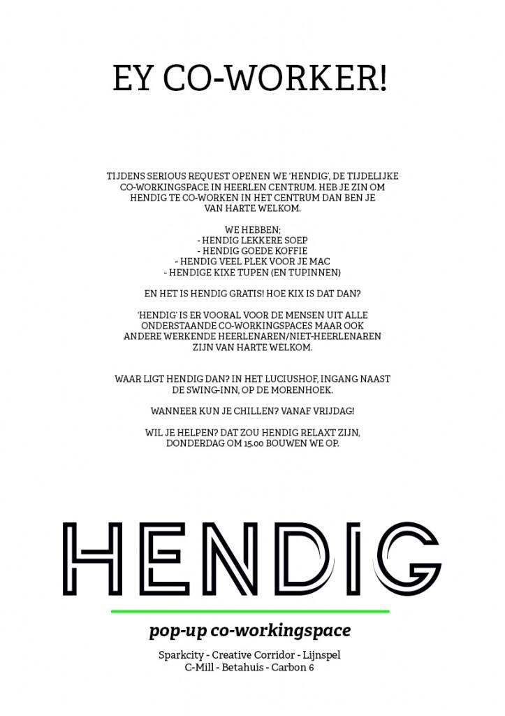 HENDIG-POSTER